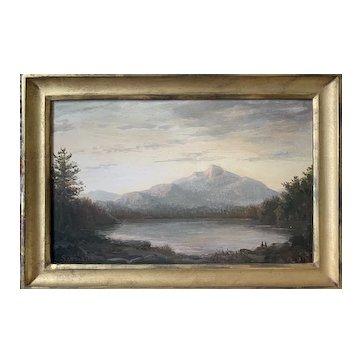 Lauren Sansaricq (b. 1990), Mt. Chocorua, 2011, Painted in the Style of the Hudson River School