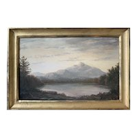 Lauren Sansaricq (b. 1990), Mt. Chocorua, 2011, Painted in the Style of the Hudson River School