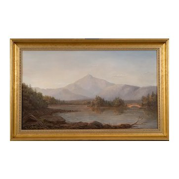 Lauren Sansaricq (b. 1990), Mount Chocorua, 2012, Painted in the Style of the Hudson River School