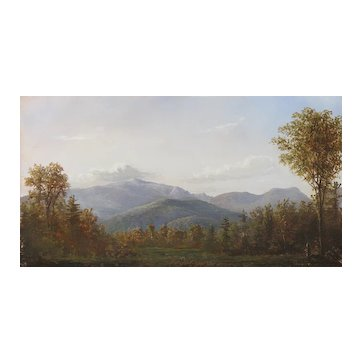 Lauren Sansaricq (b. 1990), View of the Mt. Washington Valley, 2012, Painted in the Style of the Hudson River School
