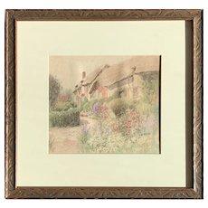 Jane Brewster Reid (American: 1862-1966) Home in Nantucket