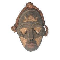 Vintage Nigerian Ibiobio Tribal Mask.