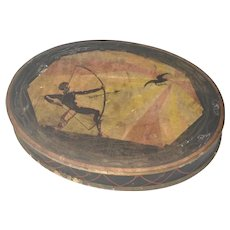 Vintage Oval Chocolate Box.