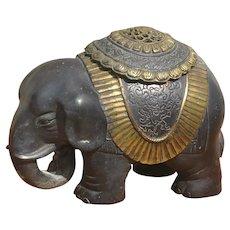 Chinese Elephant Censer Incense Burner.
