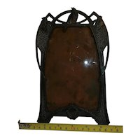 Copper Art Nouveau Frame With Bi
