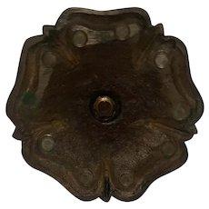 Bronze Art Nouveau Candle Stick