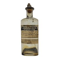 Apothecary Bottle Lewis & Martin Colorado