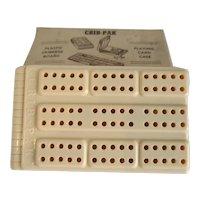 CRIB-PAK Folding Plastic Cribbage Board
