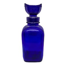 Wyeth Cobalt Eye Wash Bottle