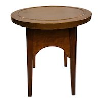Stickley Bros Quaint Furniture Copper Topped Drink Stand