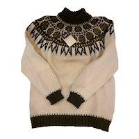1960's Men Danish Wool Sweater
