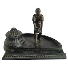 1930's German Bowling Inkwell