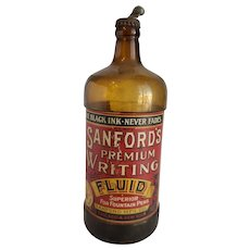 Large Sandford's Writing Liquid Ink Bottle