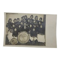 Postcard The Musettes Denver Band