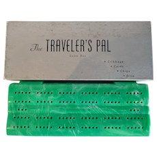 Travelers Pal Cribbage Board