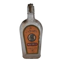1904 Old Joe Gideon Whiskey Bottle Greenbaum Bros KY