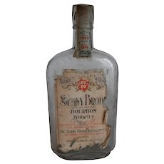 Bourbon whiskey bottle-Sunny Brook
