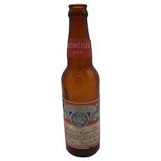 Beer bottle-Budweiser