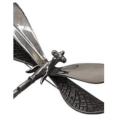 Sterling pin- Dragonfly