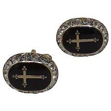 Crucifix/ cross cufflinks