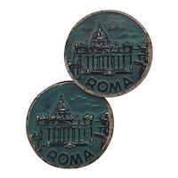 Grand Tour Roma cufflinks