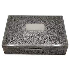 Sterling music box