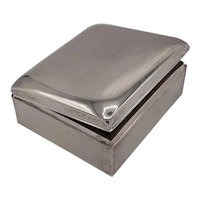 Sterling cigarette box