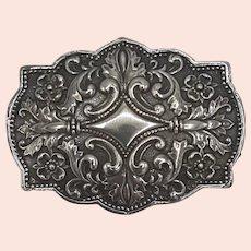 Andrea .925 sterling belt buckle