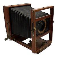 Wood box camera