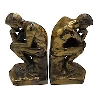 """The Thinker"" bookends"