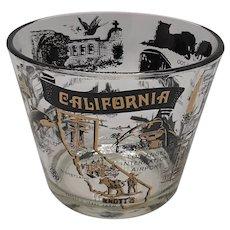 Souvenir California Attractions Ice Bucket