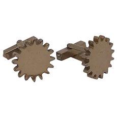 Machine Cog Cufflinks