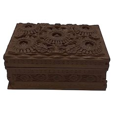 Walnut Puzzle Box