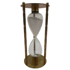 Brass Hourglass