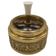 Brass Roulette Ashtray
