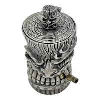 Sterling Silver Tiki Box