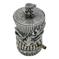 Sterling Silver Tiki Box