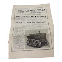 """Vintage Paper- """"An Aerial Voyage"""""""