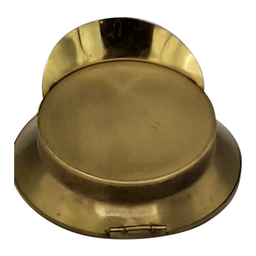 Military Hat Compact with Mirror