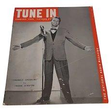 TUNE IN Magazine-January 1944