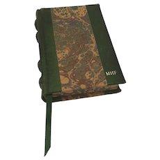 Italian Leather Bound Notebook