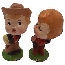 "Bobble Heads-""KissMe"""