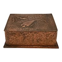 Copper Covered Wood Box