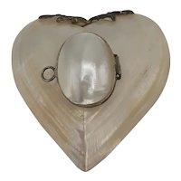 Heart Shape Shell Box