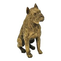 Solid Brass Dog Ornament