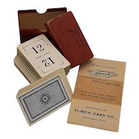 Flinch Parlor Card Game
