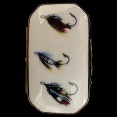 Three Hook Limoges Trinket Box