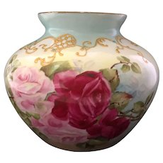 Limoges Jardinere with Roses