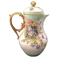 Limoges Chocolate Pot
