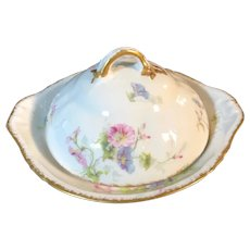Theodore Haviland Limoges France Butter Dish